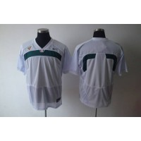 Hurricanes Blank White Stitched NCAA Jerseys