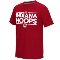 Indiana Hoosiers Adidas Dassler Climalite Ultimate T-Shirt Crimson