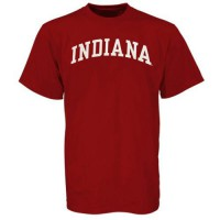 Indiana Hoosiers Arch T-Shirt Crimson