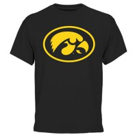 Iowa Hawkeyes Core Logo T-Shirt Black
