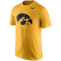 Iowa Hawkeyes Nike Logo T-Shirt Gold