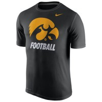 Iowa Hawkeyes Nike Sideline Legend Logo Performance T-Shirt Navy