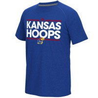 Kansas Jayhawks Adidas Dassler Climalite Ultimate T-Shirt Royal