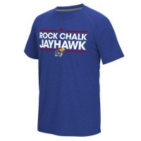Kansas Jayhawks Adidas Dassler Local Ultimate T-Shirt Royal