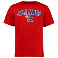 Kansas Jayhawks Proud Mascot T-Shirt Red
