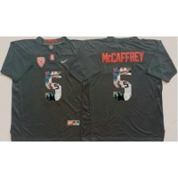 Louisville Cardinals #5 Christian McCaffrey Black Player Fashion Stitched NCAA Jersey