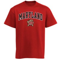 Maryland Terrapins New Agenda Arch Over Logo T-Shirt Red