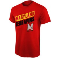 Maryland Terrapins Up Trend T-Shirt Red