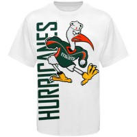 Miami Hurricanes Go Large T-Shirt White