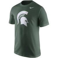 Michigan State Spartans Nike Logo T-Shirt Green