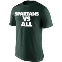 Michigan State Spartans Nike Selection Sunday All T-Shirt Green