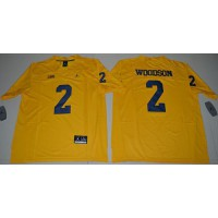 Michigan Wolverines #2 Charles Woodson Gold Jordan Brand Limited Stitched NCAA Jersey