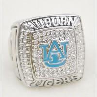 NCAA Auburn Tigers World Champions Silver Ring_2