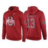 NCAA Ohio State Buckeyes #13 Maurice Clarett Red Playoff Bound Vital College Football Pullover Hoodie