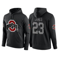 NCAA Ohio State Buckeyes #23 Lebron James Black Playoff Bound Vital College Football Pullover Hoodie