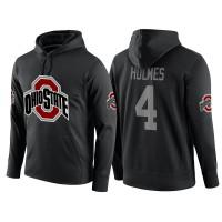 NCAA Ohio State Buckeyes #4 Santonio Holmes Black Playoff Bound Vital College Football Pullover Hoodie