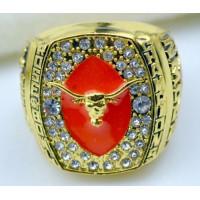 NCAA Texas Longhorns World Champions Gold Ring_1