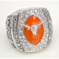 NCAA Texas Longhorns World Champions Silver Ring