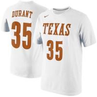 Nike Kevin Durant Texas Longhorns Future Star Jersey Replica T-Shirt White