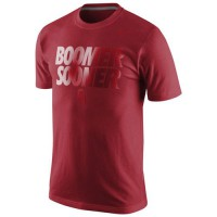 Nike Oklahoma Sooners College Local Cotton T-Shirt Crimson