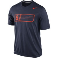 Nike Syracuse Orange Training Day Legend Dri-FIT Performance T-Shirt Navy Blue