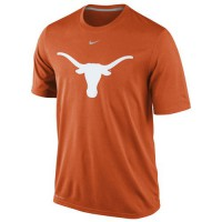Nike Texas Longhorns Logo Legend Dri-FIT Performance T-Shirt Burnt Orange