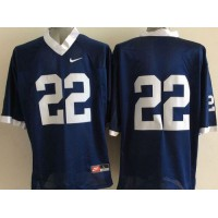 Nittany Lions #22 T.J. Rhattigan Navy Blue Stitched NCAA Jersey