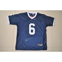 Nittany Lions #6 Gerald Hodges Navy Blue Stitched NCAA Jersey