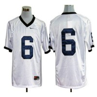 Nittany Lions #6 Gerald Hodges White Stitched NCAA Jersey