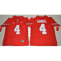 Ohio State Buckeyes #4 Curtis Samuel Red Stitched NCAA Jersey