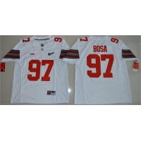 Ohio State Buckeyes #97 Joey Bosa White Diamond Quest Stitched NCAA Jersey