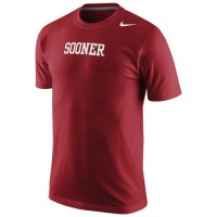 Oklahoma Sooners Nike Football Practice Training Day T-Shirt Crimson