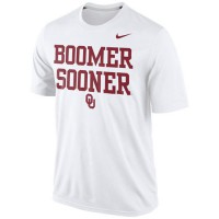 Oklahoma Sooners Nike Legend Authentic Local Performance T-Shirt White