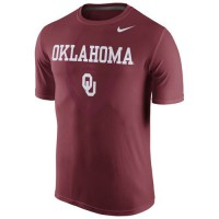 Oklahoma Sooners Nike Legend Football Icon T-Shirt Crimson