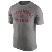 Oklahoma Sooners Nike Legend Lift Performance T-Shirt Gray