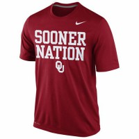 Oklahoma Sooners Nike Legend Local Performance T-Shirt Crimson