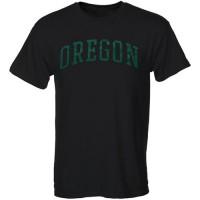 Oregon Ducks Green Arch T-Shirt Black