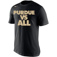 Purdue Boilermakers Nike Selection Sunday All T-Shirt Navy