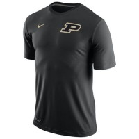 Purdue Boilermakers Nike Stadium Dri-FIT Touch Top Navy