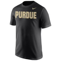 Purdue Boilermakers Nike Wordmark T-Shirt Navy