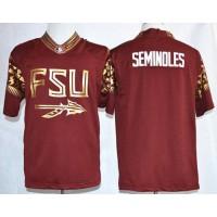 Seminoles #00 Seminoles Red Pride Fashion Stitched NCAA Jersey
