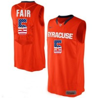Syracuse Orange #5 C.J Fair Orange College Basketball Jersey