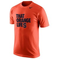 Syracuse Orange Nike Basketball Mascot Life T-Shirt Orange