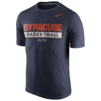 Syracuse Orange Nike Basketball Practice Performance T-Shirt Navy