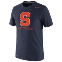 Syracuse Orange Nike Football Practice Legend Dri-FIT Performance T-Shirt Navy Blue