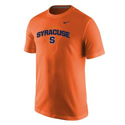 Syracuse Orange Nike Lacrosse T-Shirt Orange