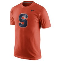 Syracuse Orange Nike Logo T-Shirt Orange