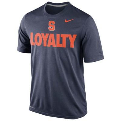 Syracuse Orange Nike Loyalty Dri-FIT T-Shirt Navy Blue