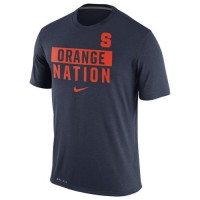 Syracuse Orange Nike Nation Legend Local Verbiage Dri-FIT T-Shirt Navy