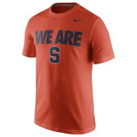 Syracuse Orange Nike Team T-Shirt Orange